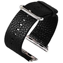 Ремешок For Apple Watch 38mm COTEetCI CS2030-BK Culture Leather Material Black