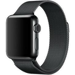 Ремешок For Apple Watch 38mm COTEetCI W2 CS2062-BK Elegant Steel Material Black
