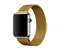 Ремешок For Apple Watch 38mm COTEetCI W6 WH5202-GD Magnet Band Gold