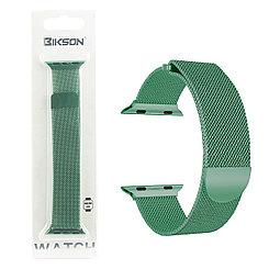 Ремешок For Apple Watch 38mm/40mm Bikson Magnetic Milanese Loop, Green