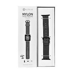 Ремешок For Apple Watch 38mm/40mm COTEetCI W11 WH5213-BK Nylon Black