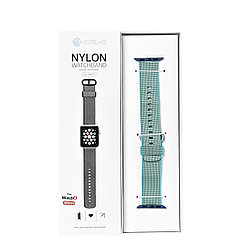 Ремешок For Apple Watch 38mm/40mm COTEetCI W11 WH5213-BL Nylon Blue