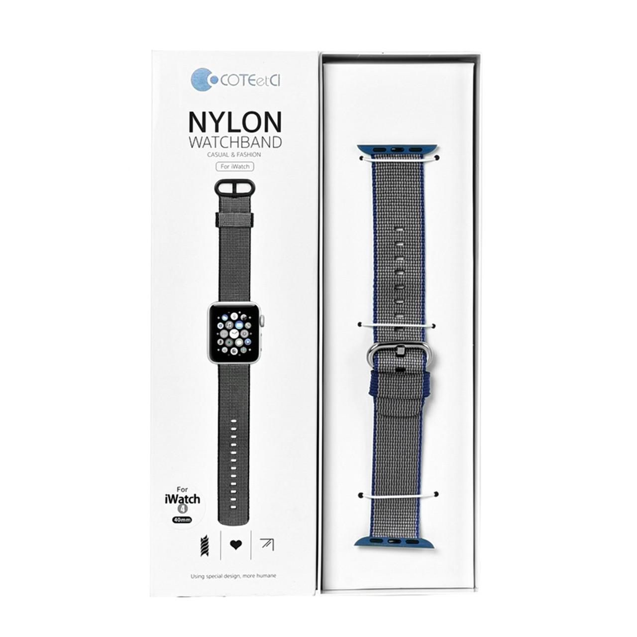 Ремешок For Apple Watch 38mm/40mm COTEetCI W11 WH5213-PR Nylon Purple