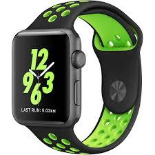 Ремешок For Apple Watch 42mm COTEetCI W12 WH5217-BK-YL Sport Band Black/Yelow