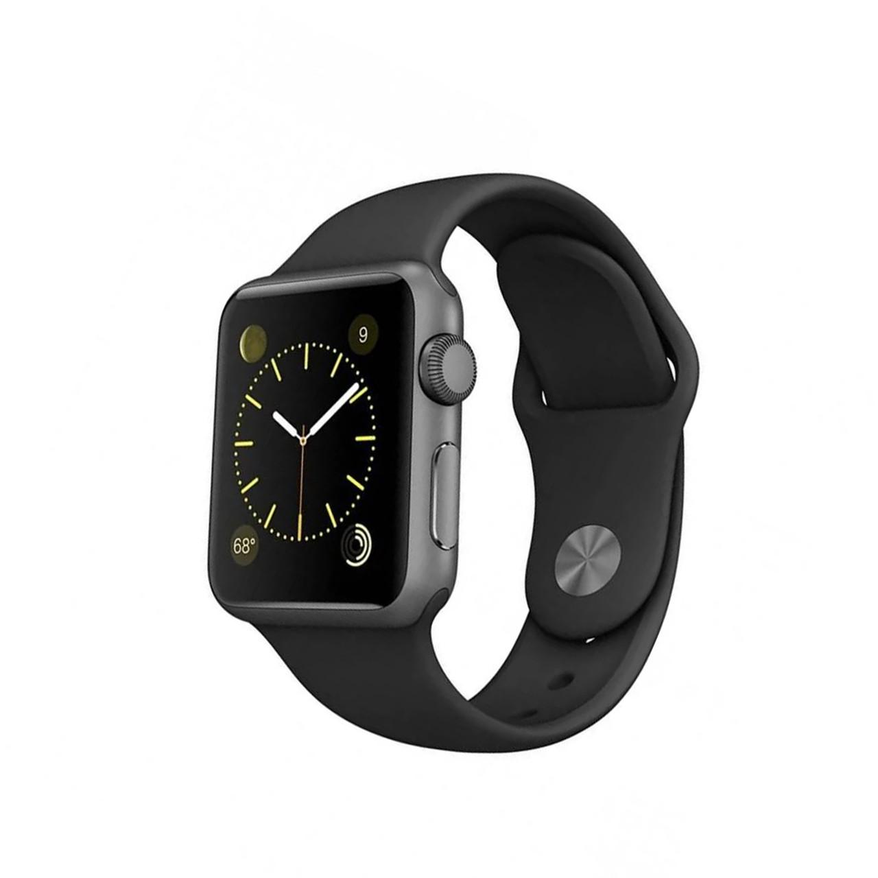 Ремешок For Apple Watch 42mm COTEetCI W3 CS2086-BK gel Black