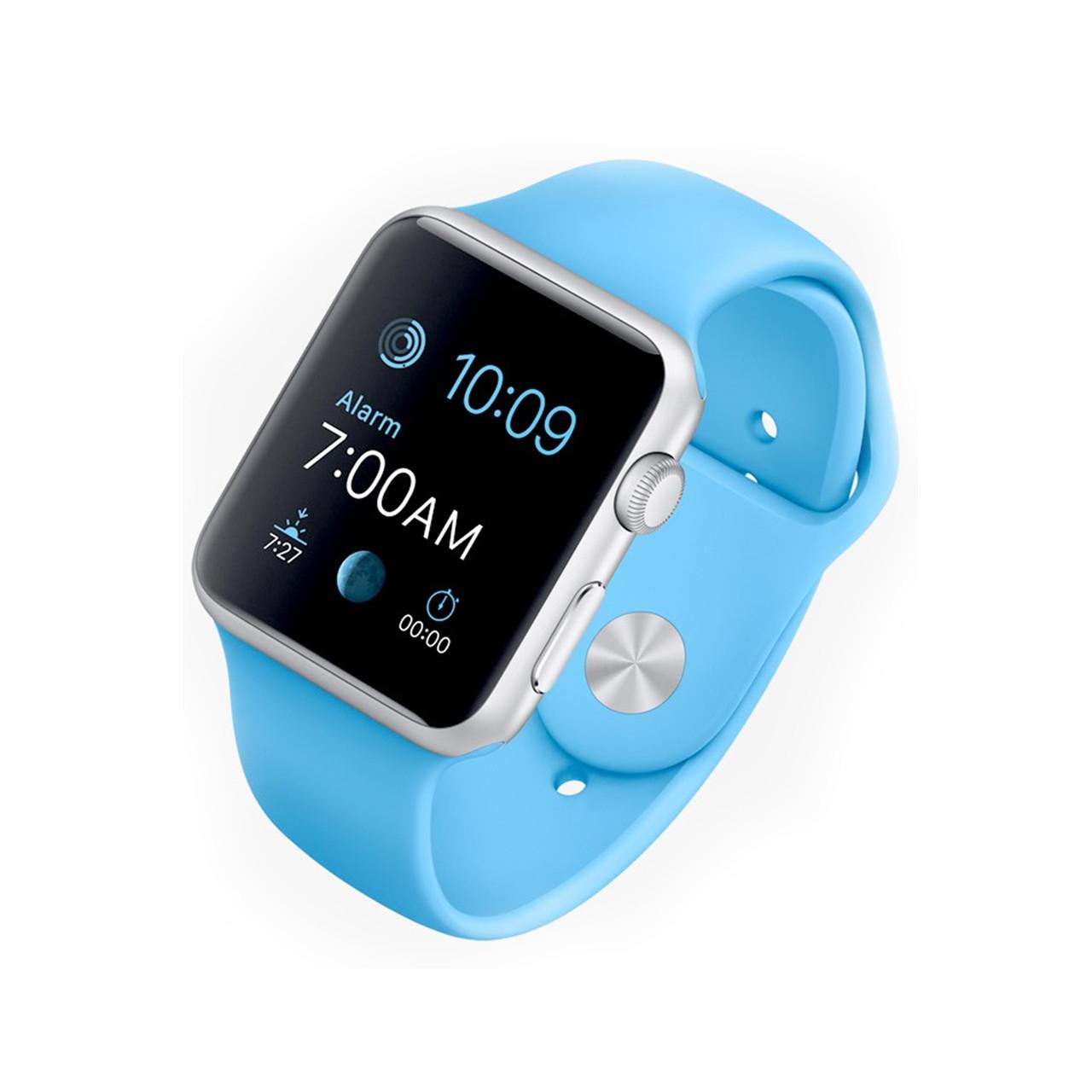 Ремешок For Apple Watch 42mm COTEetCI W3 CS2086-BL gel Blue