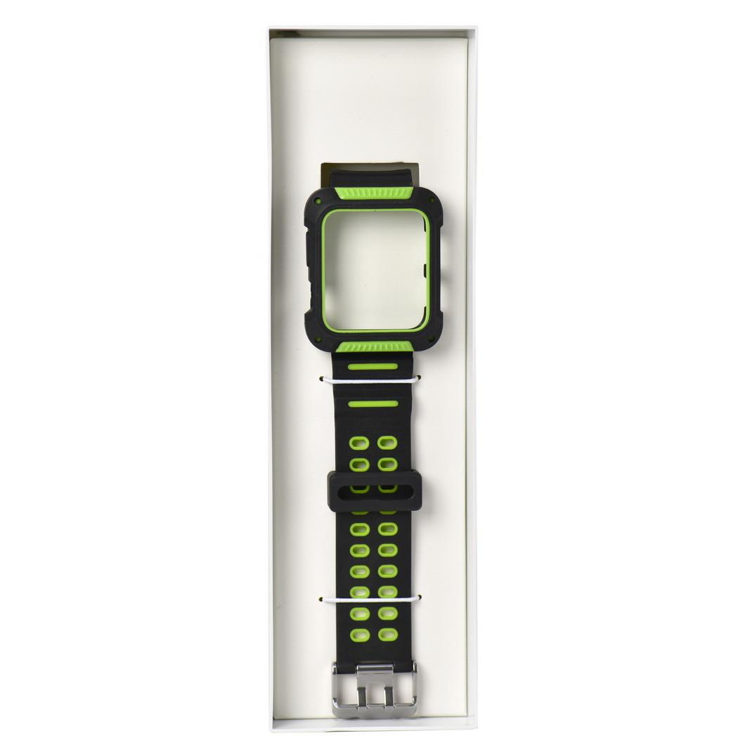 Ремешок For Apple Watch 42mm COTEetCI W31 WH5252-BG PC&Silicone Green
