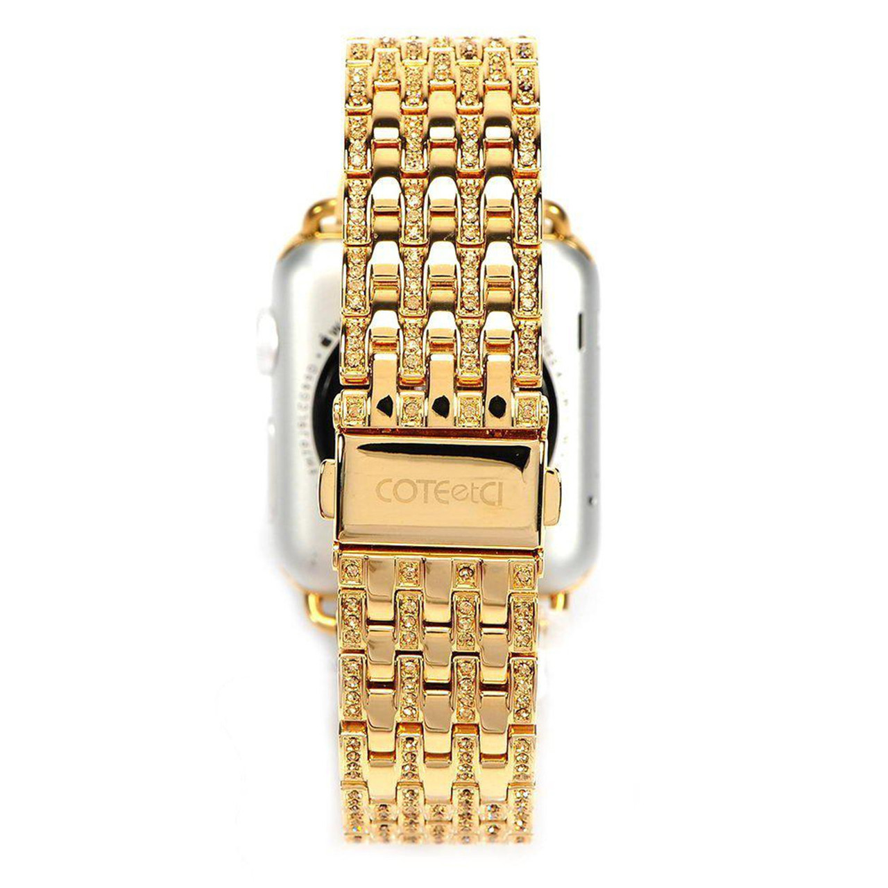 Ремешок For Apple Watch 42mm COTEetCI W4 CS2088-GD Magnificent Watchband Gold