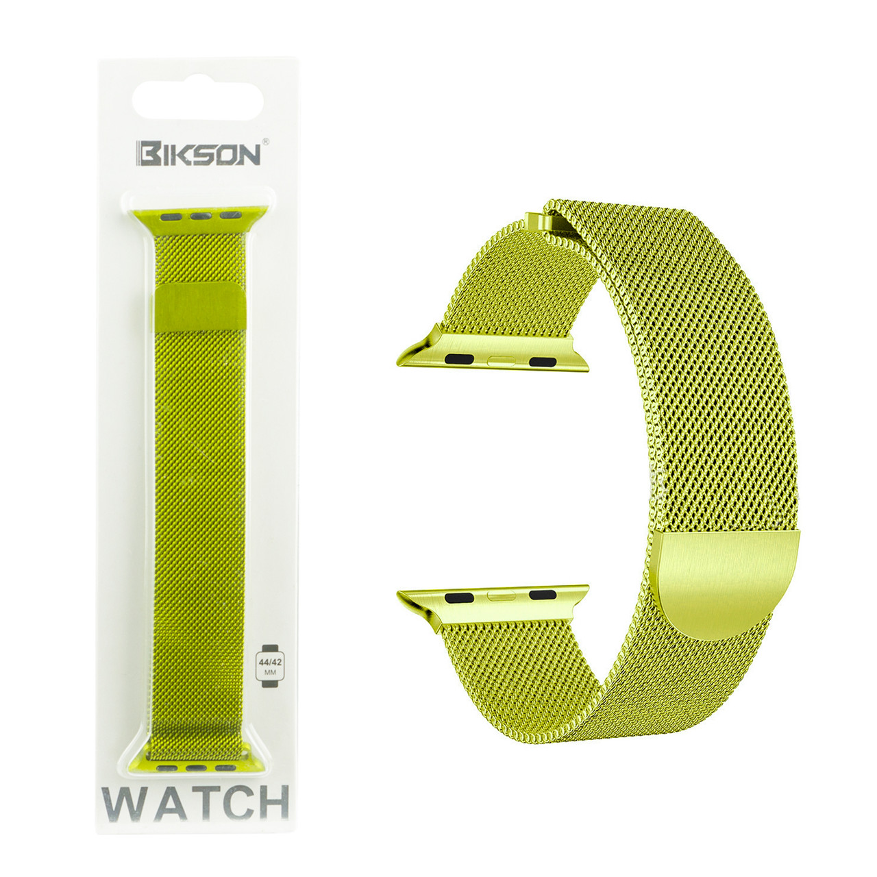Ремешок For Apple Watch 42mm/44mm Bikson Magnetic Milanese Loop, Light Green