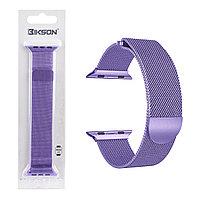 Ремешок For Apple Watch 42mm/44mm Bikson Magnetic Milanese Loop, Purple