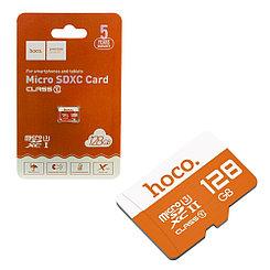 Карта памяти Micro SD 128Gb class 10 Hoco