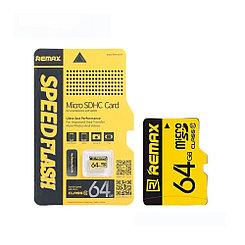 Карта памяти Micro SD 64Gb Remax Speed Flash class 10