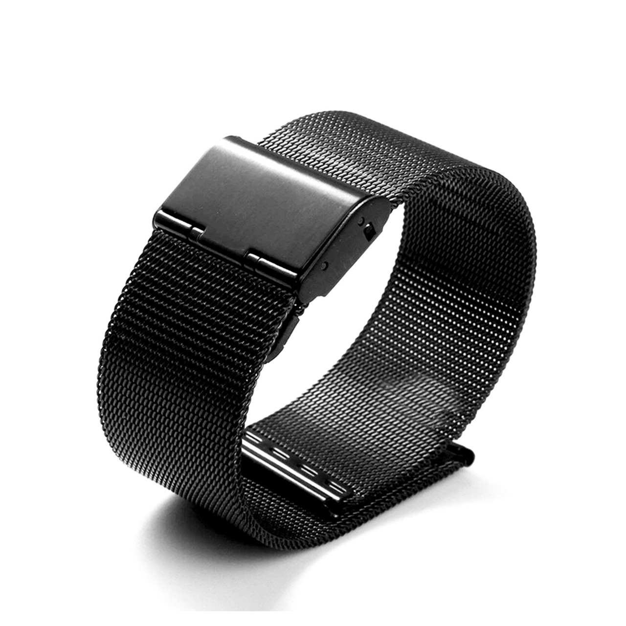Ремешок For Apple Watch 42mm/44mm COTEetCI W23 WH5236-BK Stainless Steel, Black