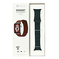 Ремешок For Apple Watch 42mm/44mm COTEetCI W7 WH5206-GR Magnet Gray