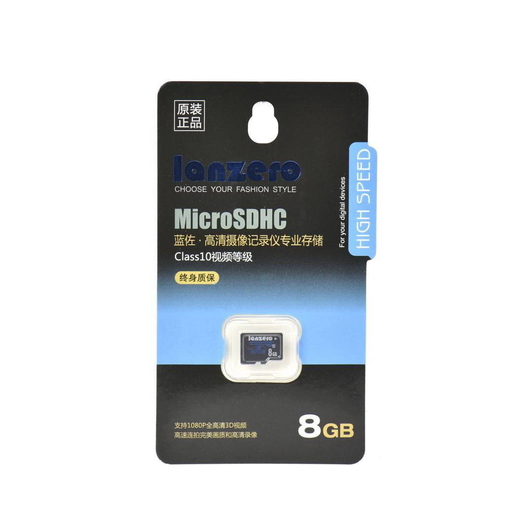 Карта памяти Micro SDHC 8Gb Lanzero High Speed class 10