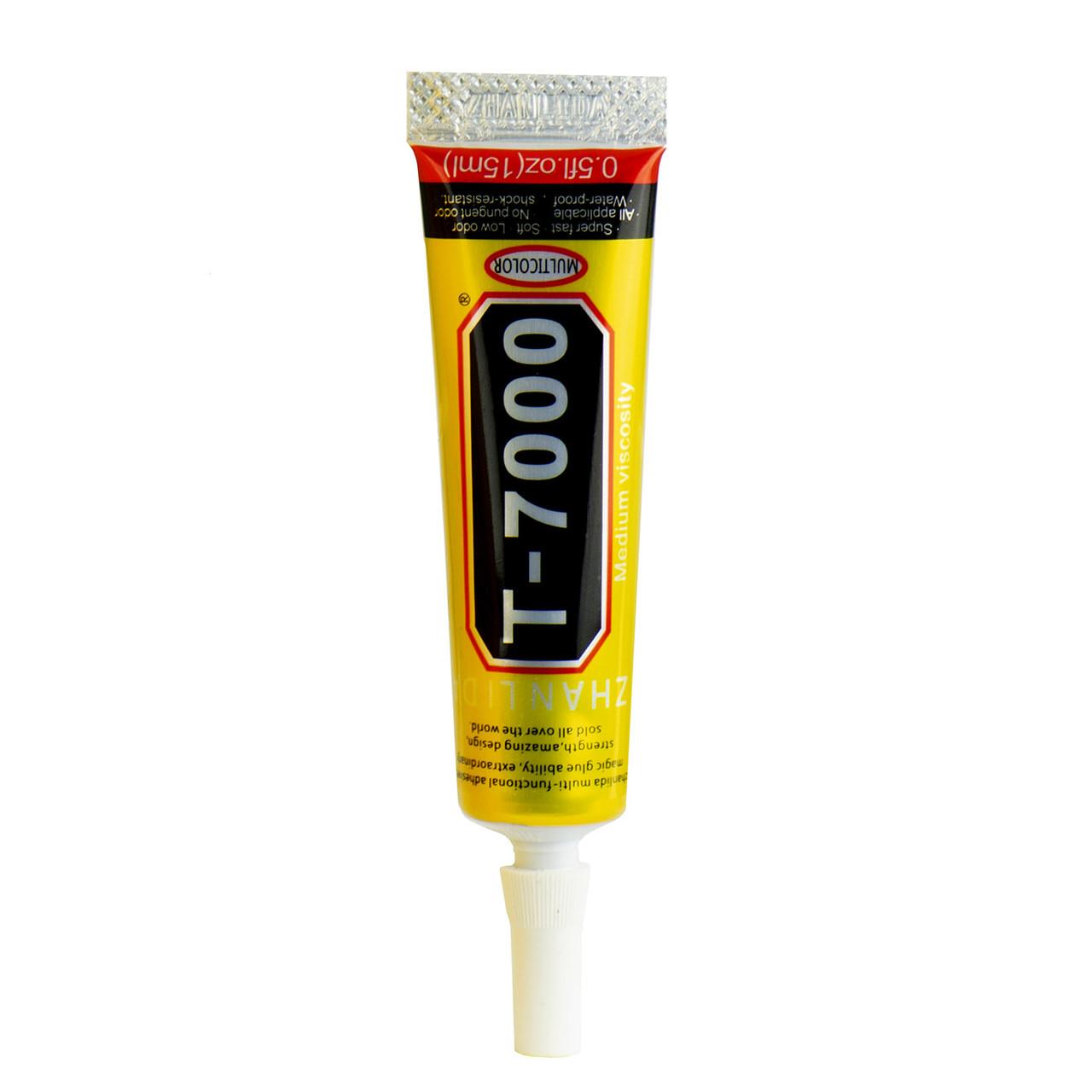 Клей T-7000 для склеивания тачскринов с рамками черный 15мл