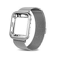 Ремешок For Apple Watch 44mm Blank Case, Silver