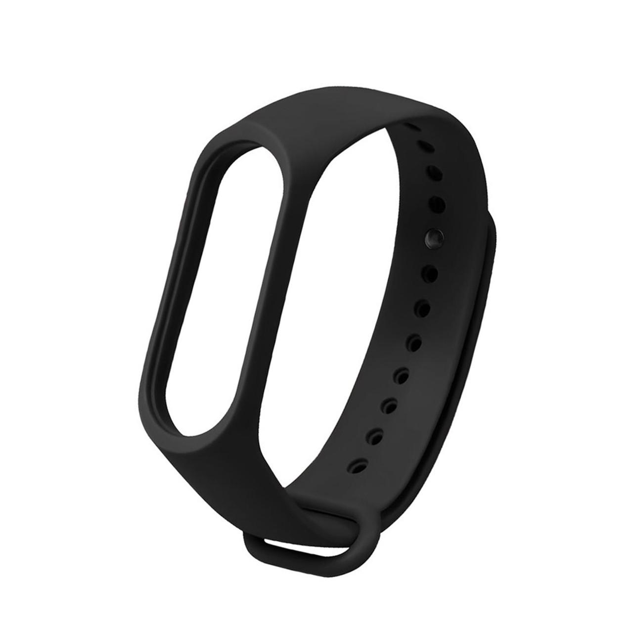 Ремешок для смарт-браслетов Xiaomi Mi Band 3/Mi Band 4, Original Black