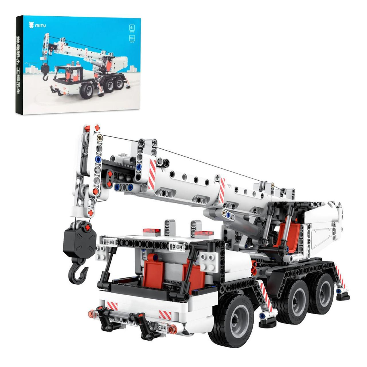 Конструктор игровой Xiaomi Mitu Building Block Engineering Crane