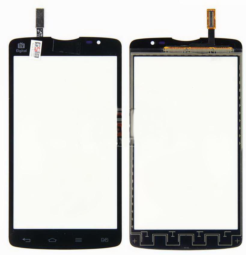 Сенсор LG L80 Dual D380 no home Black (41)