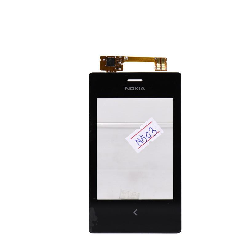 Сенсор Nokia N503 Black (46)