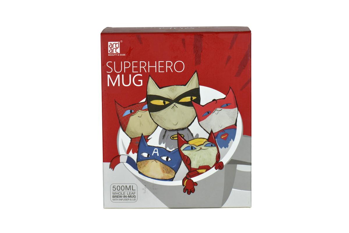 Кружка-заварник Superhero Mug 500ml Red