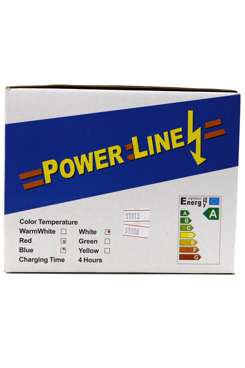 Лампа LED Power Line 10W color (6027)
