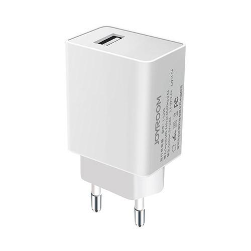Сетевое зарядное устройство Joyroom STC28 2A Quick charge 3.0 White
