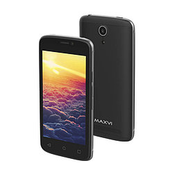 Смартфон Maxvi MS401 Sunrise 1Gb/8Gb, Black