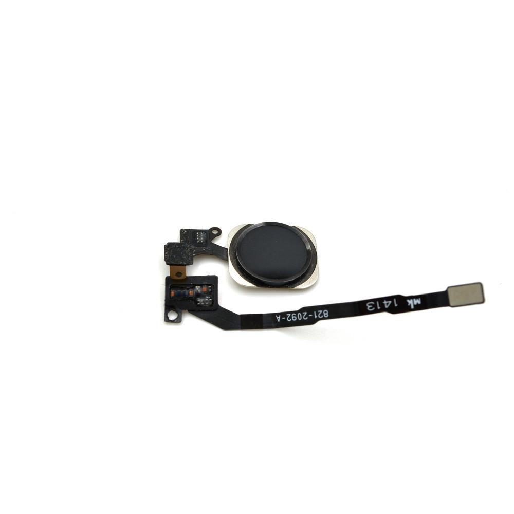 Шлейф Apple iPhone 5S на кнопку меню Black (49)