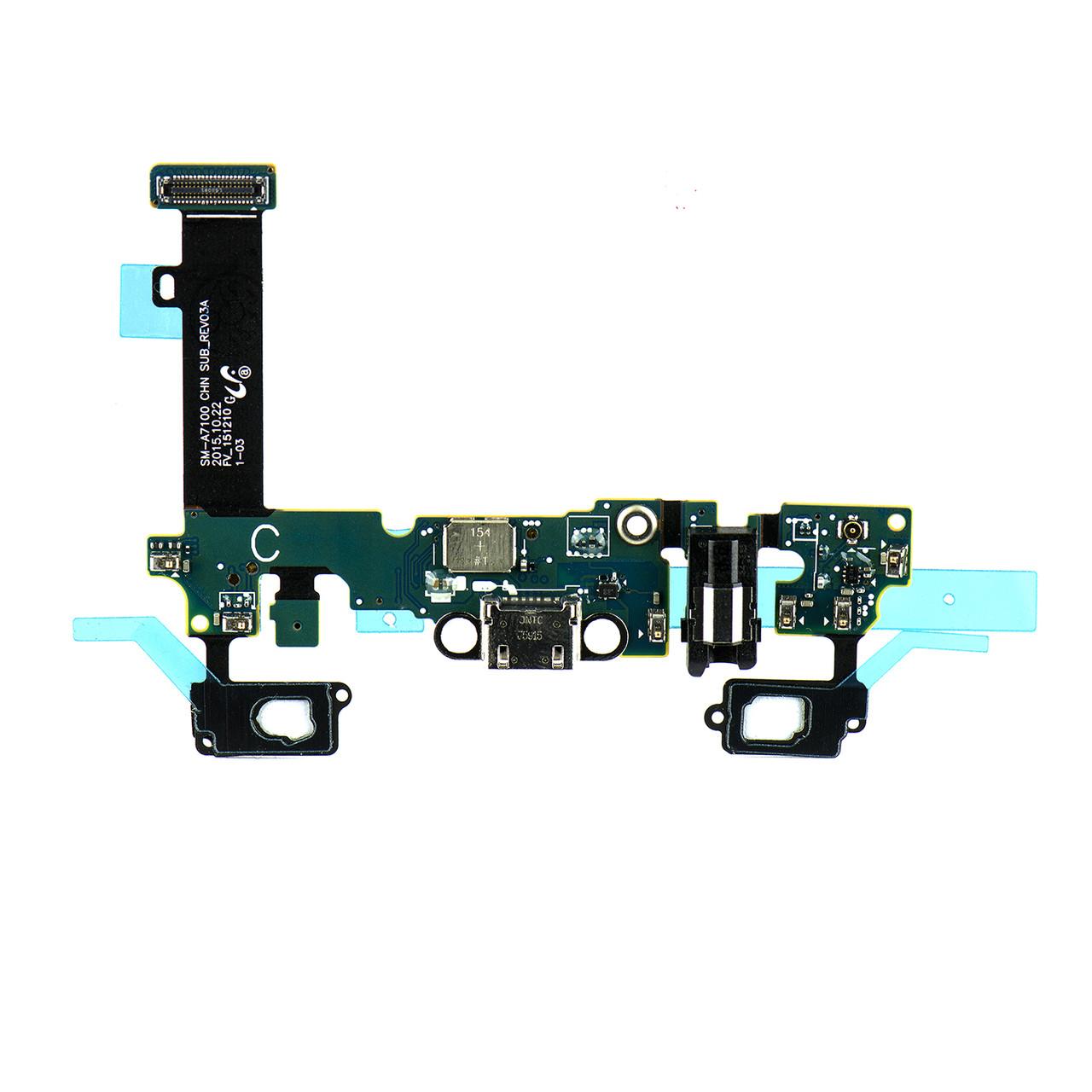 Шлейф Samsung Galaxy A7 A710 с коннектором заряда и гарнитуры (55)