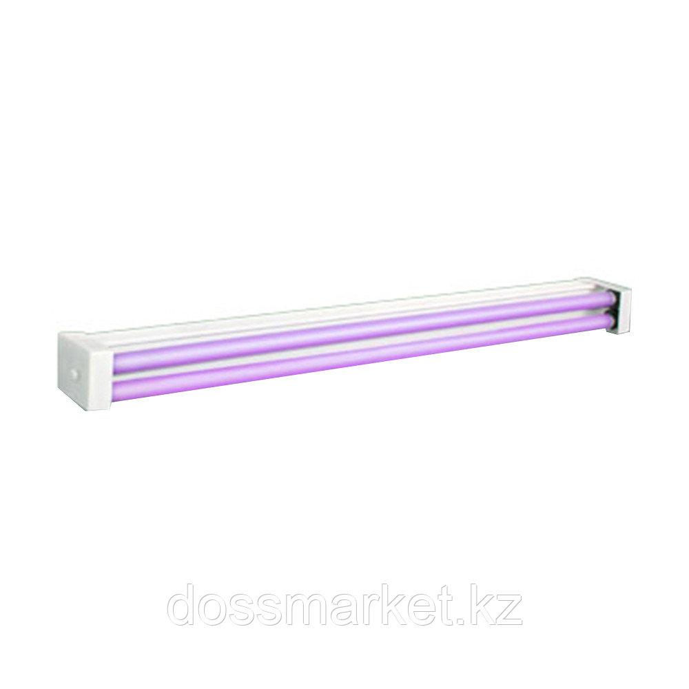 Облучатель бактерицидный с 2 (двумя)  Ультрафиолетовыми лампами  настенно-потолочный  ОБНП 2х30-01  Генерис
