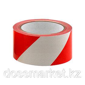 Сигнальная лента, Цвет ленты: Красно-белая, Длина ленты: 150 м, Ширина ленты: 50 мм