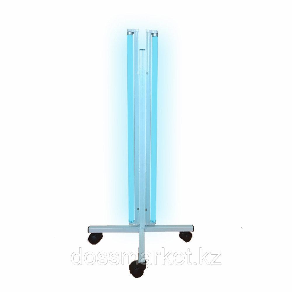 Облучатель бактерицидный ОБНП 3*30, 3 лампы, Передвижной, на 4-х колесиках