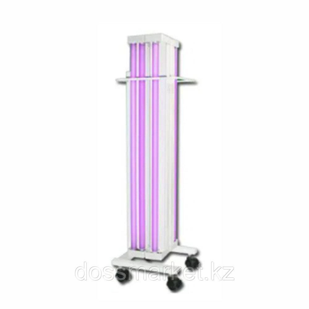 Облучатель бактерицидный с 6 лампами, передвижные на колесиках