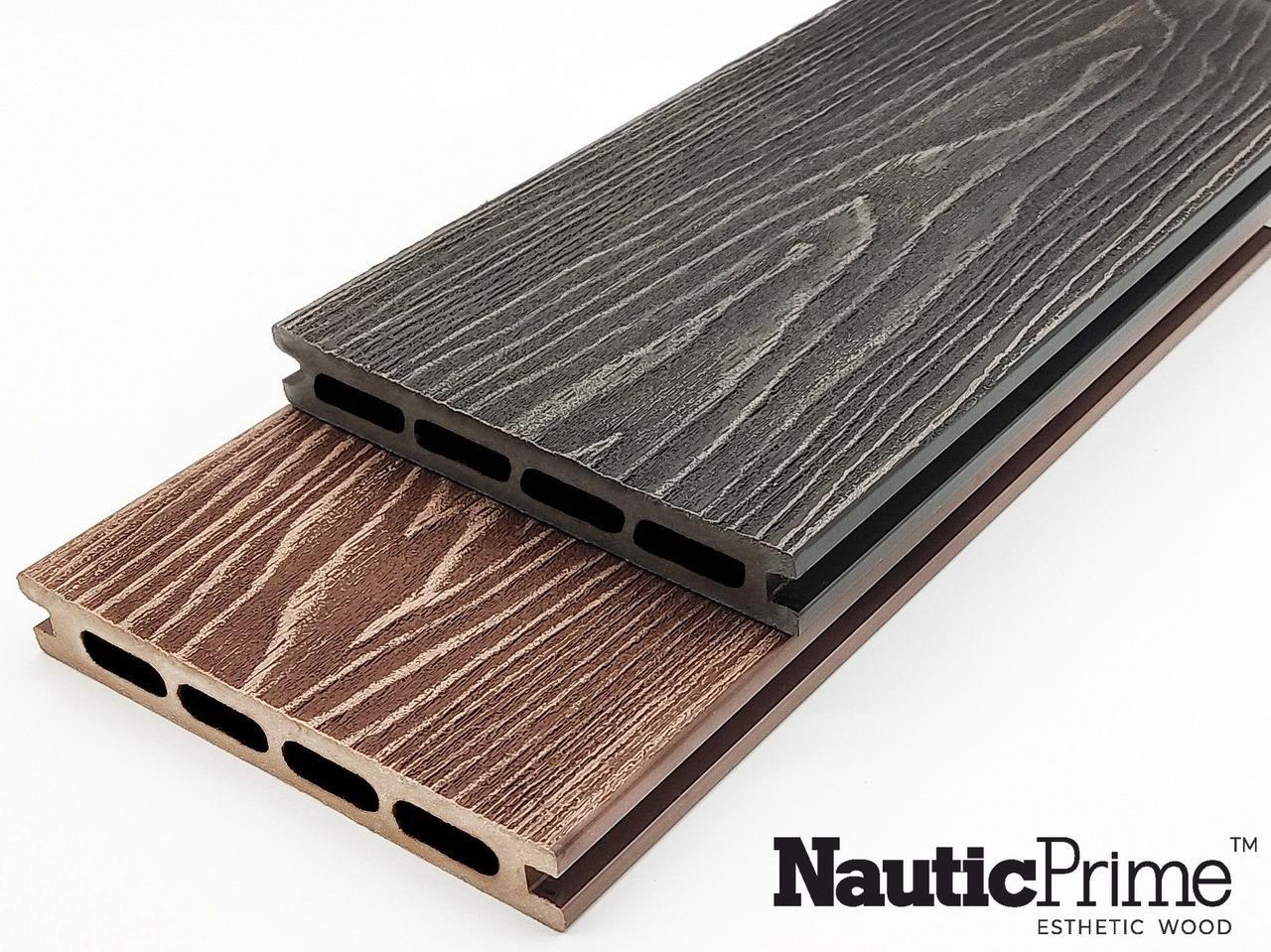 Террасная доска NauticPrime (Light) Esthetic Wood 24*150*4000мм