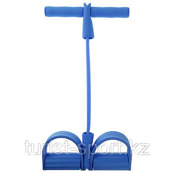 Эспандер для пресса с фиксатором для ног, цвет МИКС