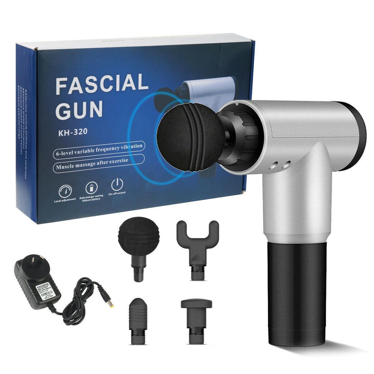 Массажный пистолет для фасциального массажа (Fascial Gun HG-320)