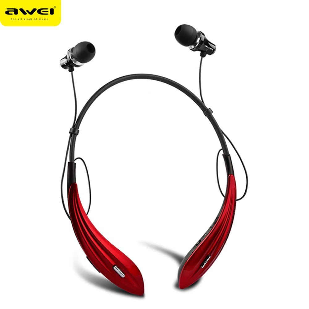 Bluetooth гарнитура Awei A810BL Red