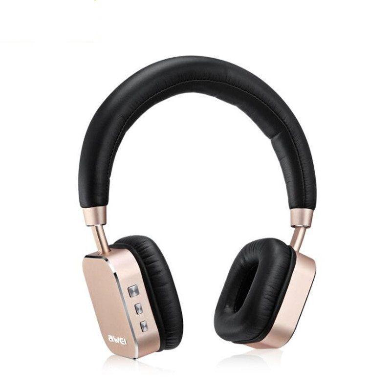 Bluetooth гарнитура Awei A900BL Gold