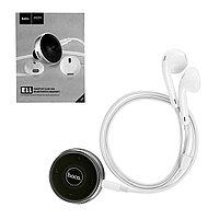 Bluetooth гарнитура Hoco E11 Haoyue Clip-on Black/White