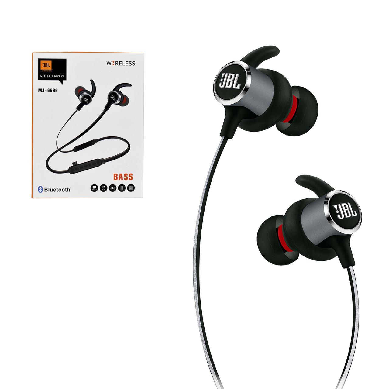 Bluetooth гарнитура JBL MJ-6699 Black