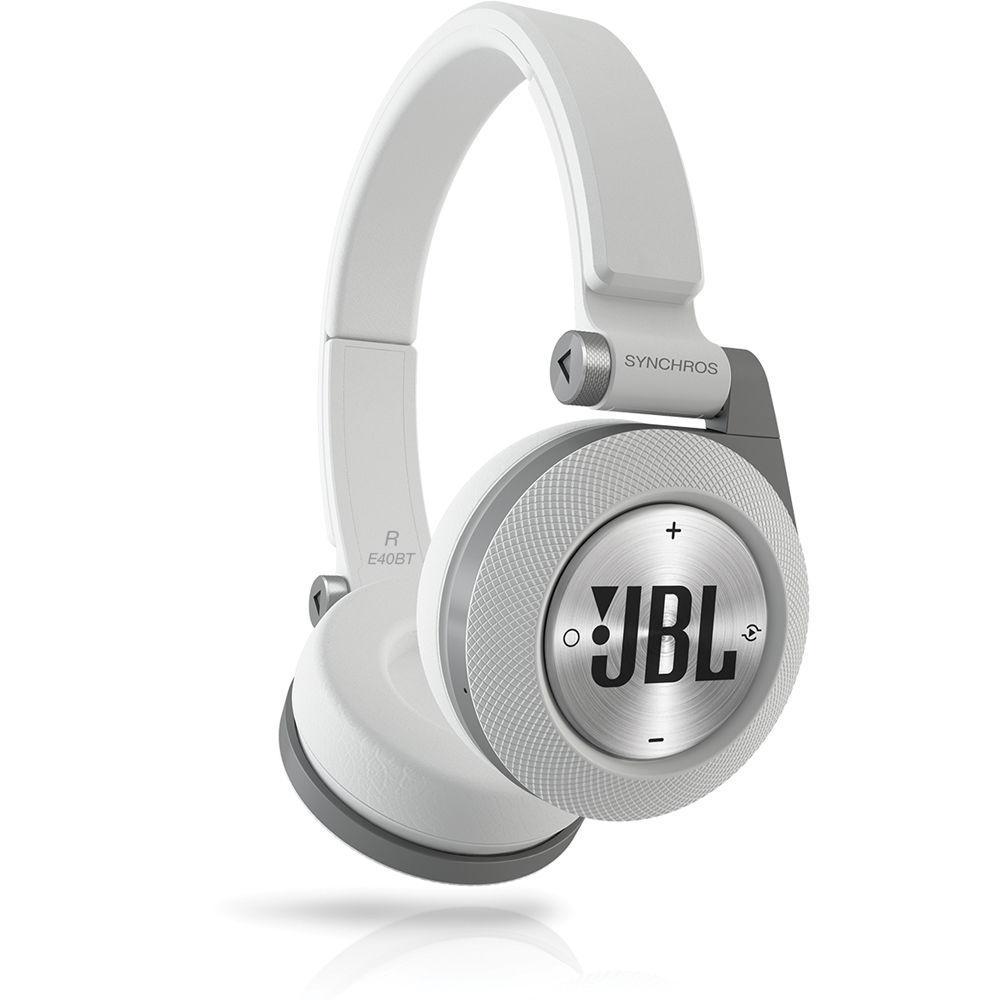 Bluetooth гарнитура JBL Synchros E40BT Original White/Silver