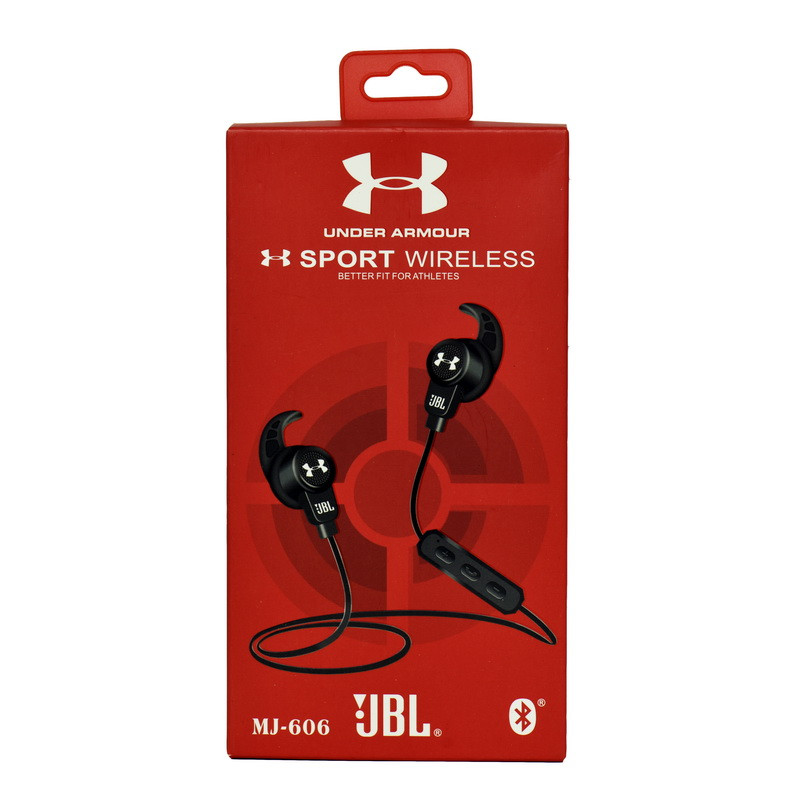 Bluetooth гарнитура JBL Under Armour MJ-606 Black