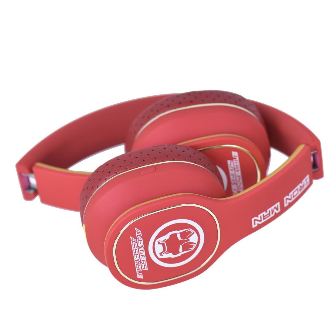 Bluetooth гарнитура Marvel Iron-Man Red