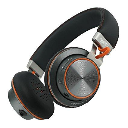 Bluetooth гарнитура Remax 195HB Gray/Orange