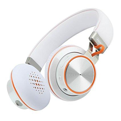 Bluetooth гарнитура Remax 195HB White/Orange