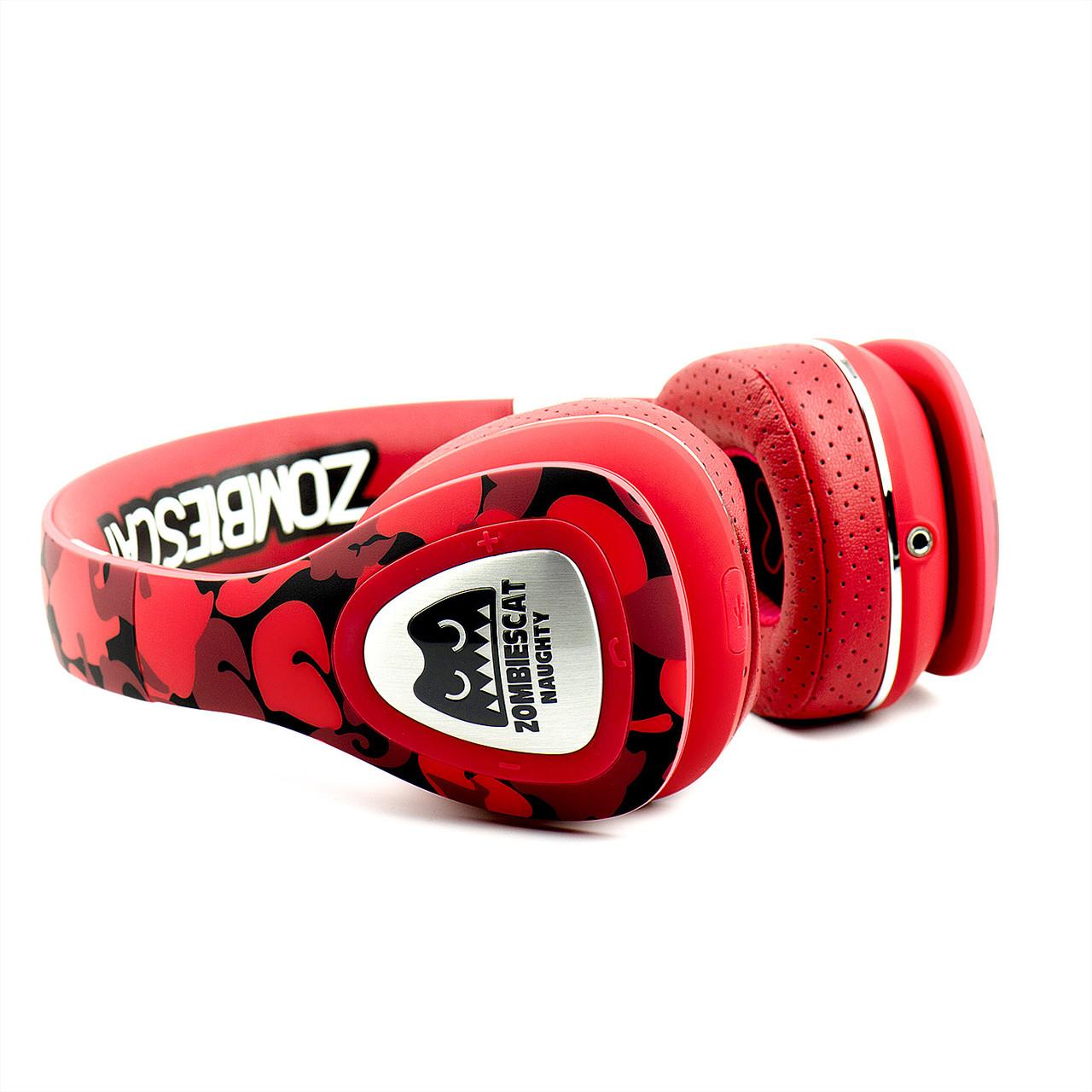 Bluetooth Гарнитура Senmai Zombies Cat Red