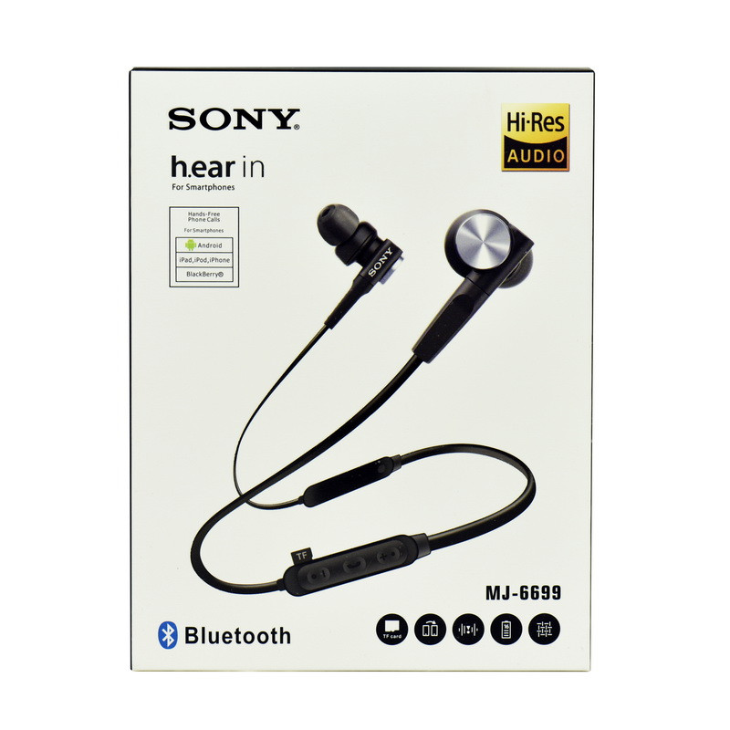 Bluetooth гарнитура Sony MJ-6699 Black