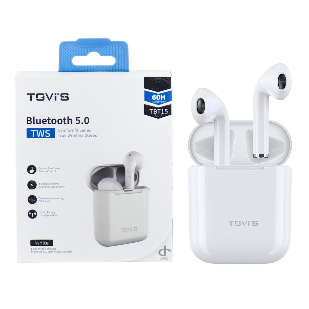 Bluetooth гарнитура TGVIS TBT15, White